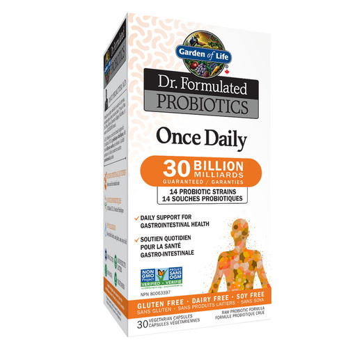 Garden of Life: Dr. Formulated Probiotics Once Daily