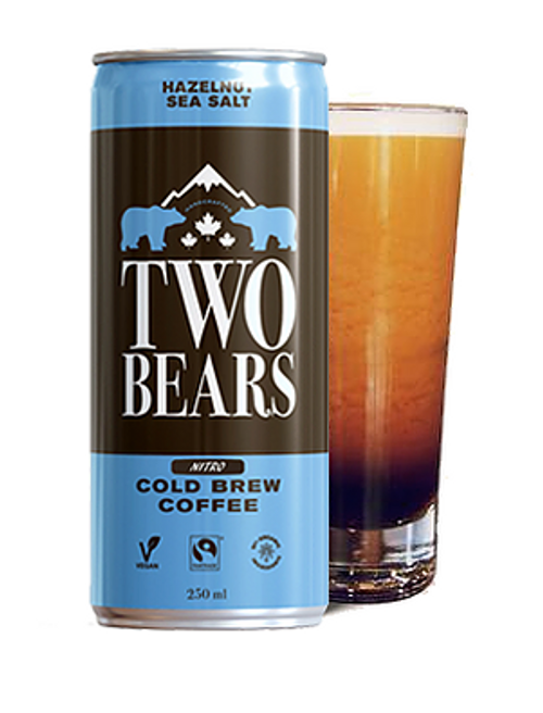 Two Bears: Cold Brew Coffee Hazelnut Sea Salt