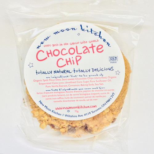 New Moon Kitchen: Chocolate Chip Cookie (70g)
