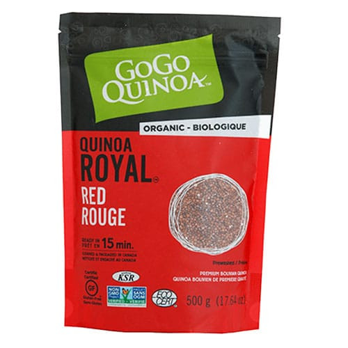 Gogo Quinoa: Organic Royal Red Quinoa