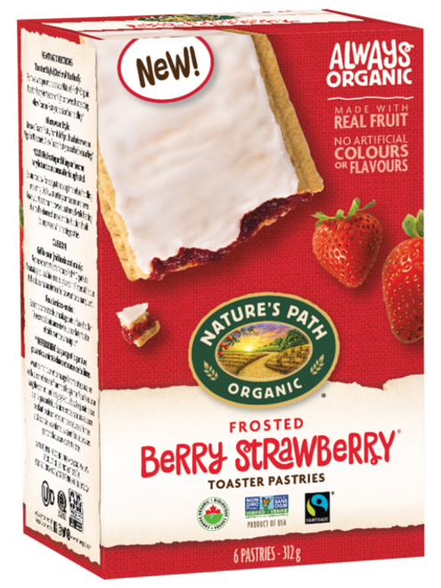 Nature's Path: Frosted Berry Strawberry Toaster Pastries