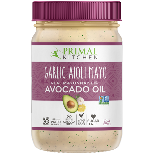 Primal Kitchen: Garlic Aioli Mayonnaise with Avocado Oil (335ml)