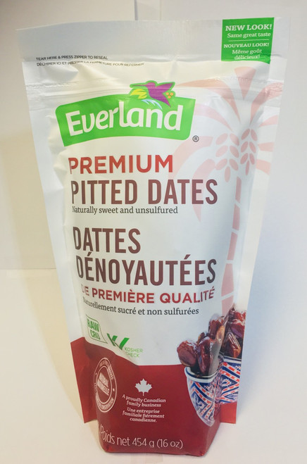 Everland Premium Whole Pitted Dates
