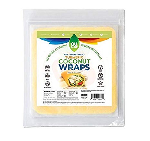 Nuco: Raw Turmeric Coconut Wraps (70g)