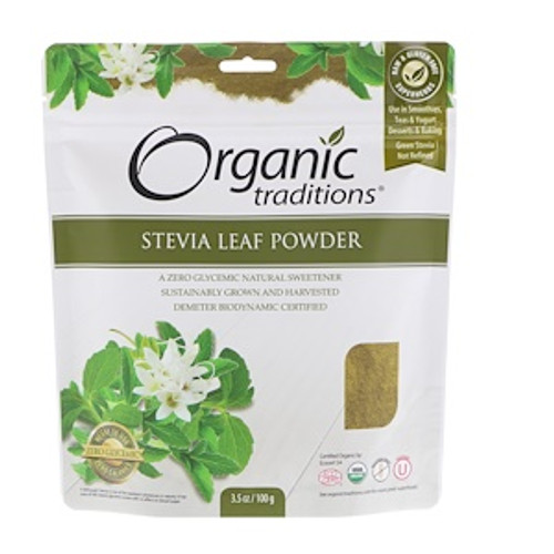Organic Traditions: Stevia Leaf Powder