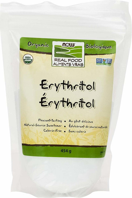 NOW Foods: Natural Sweeter Erythritol (454g)