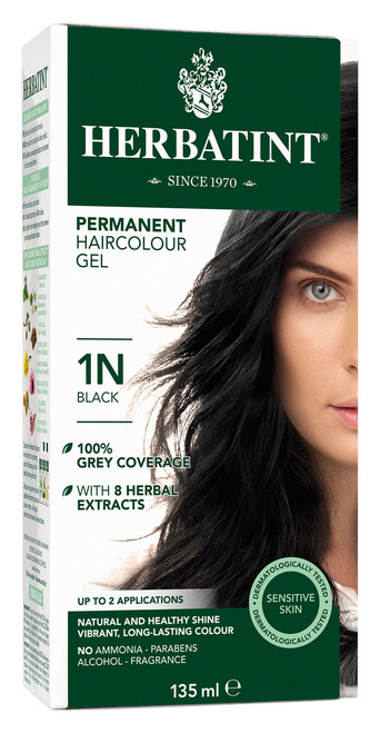 Herbatint 1N Hair Colour (135ml)