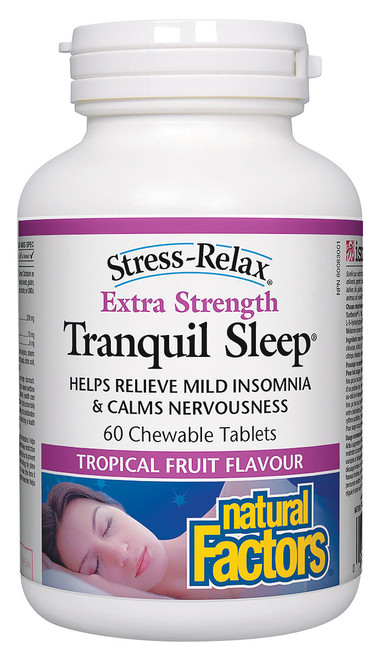 Natural Factors: Tranquil Sleep Extra Strength