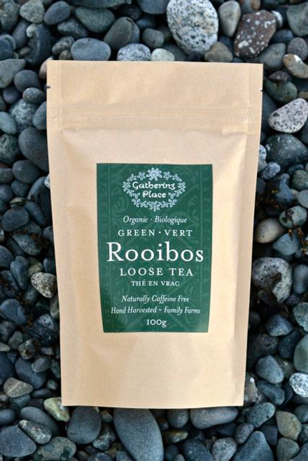 Gathering Place: Green Rooibos Loose Leaf Tea (100g)