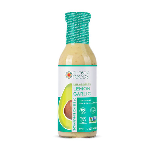 Chosen Foods: Lemon Garlic Dressing (355mL)