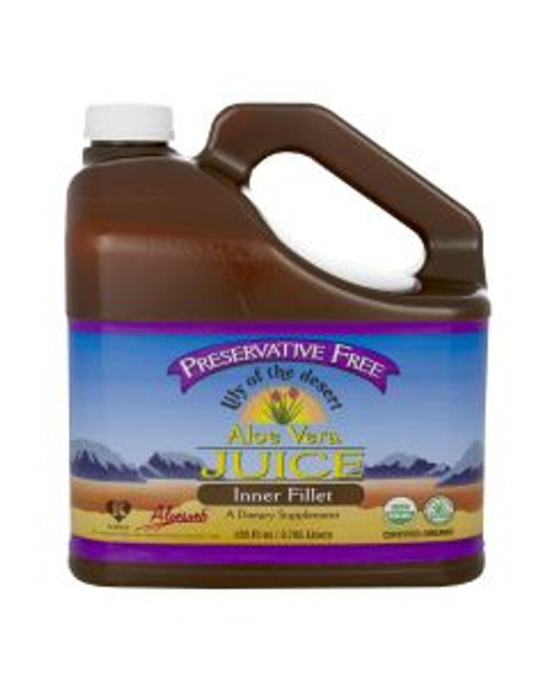 Lily of the Desert: Aloe Vera Juice Inner Fillet (Pres. Free) (3.8L)