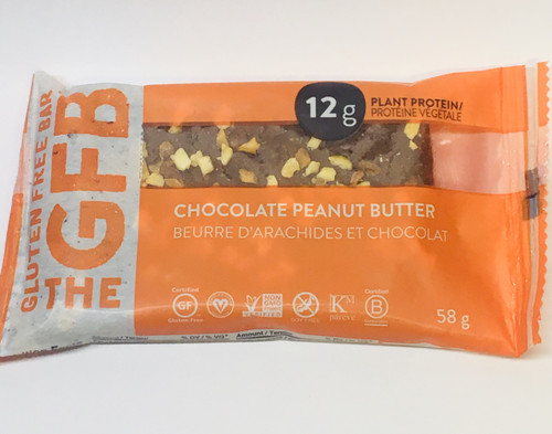 The GFB: Chocolate Peanut Butter Bar