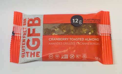 The GFB: Cranberry Toasted Almond Bar