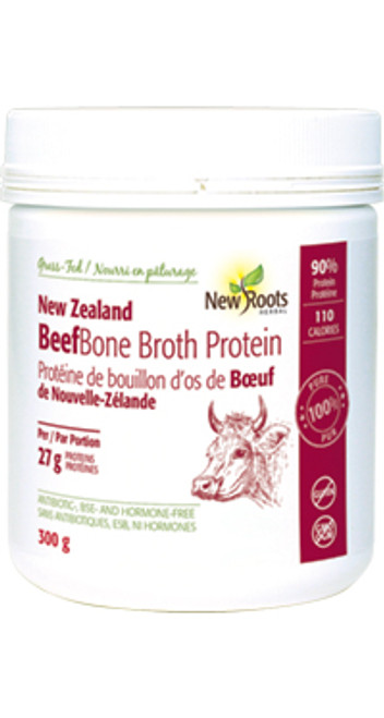 New Roots Herbal: New Zealand Beef Bone Broth Protein (300g)