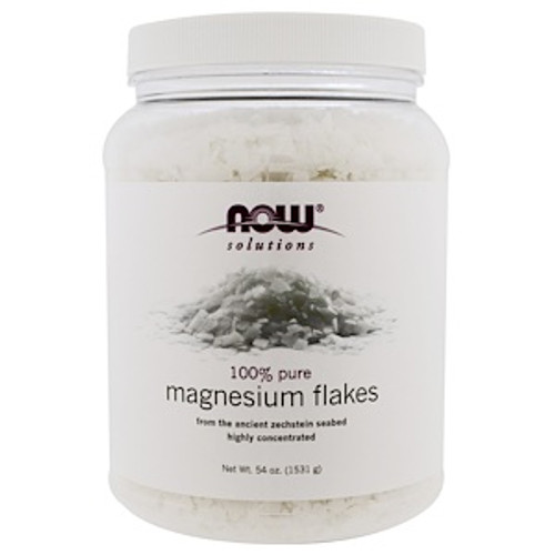 NOW: Pure Magnesium Chloride Flakes