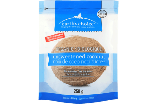 Earth's Choice Unsweetened Coconut (250g)