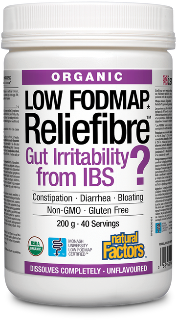 Natural Factors: Reliefibre - Unflavoured