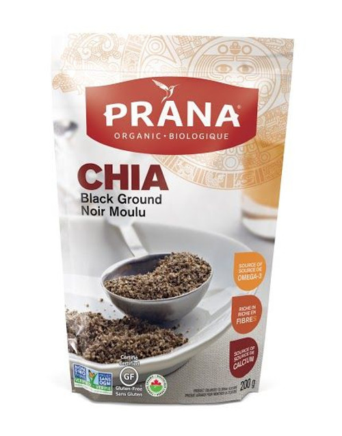 Prana Organic Black Ground Chia