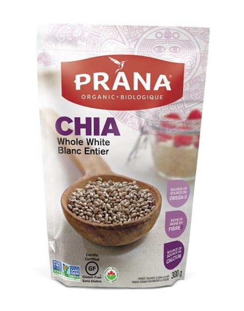 Prana Organic Whole White Chia