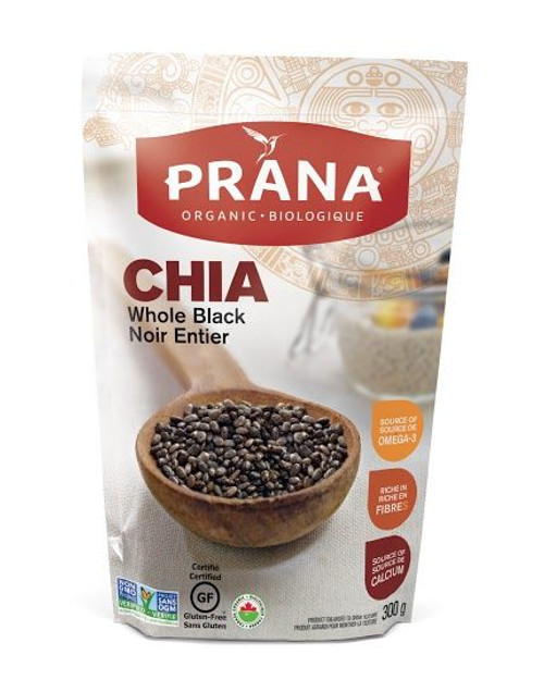 Prana Organic Whole Black Chia