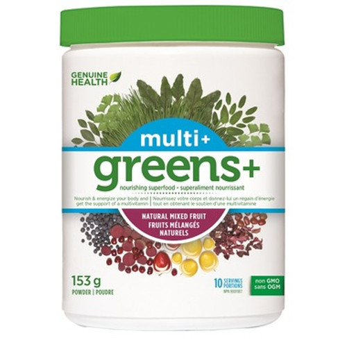 Genuine Health: Multi+ Greens Mixed Fruit (153g)