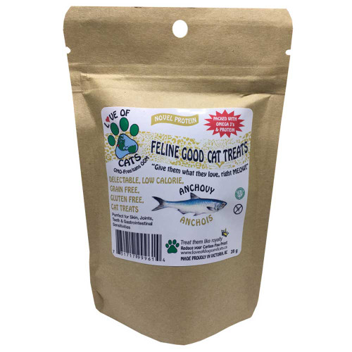 Love of Cats: Feline Good Cat Treats Anchovy