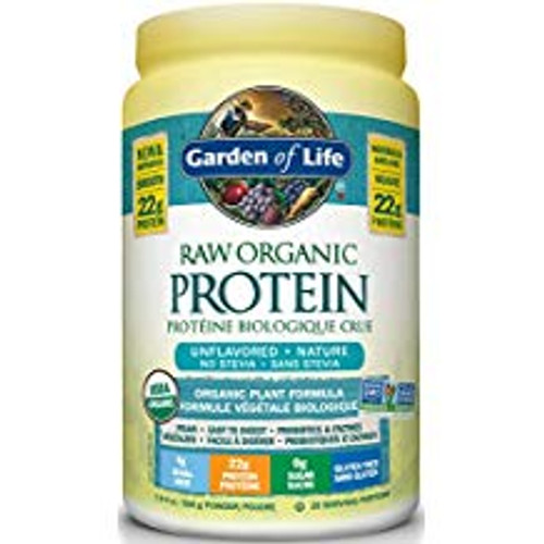 Garden of Life: Raw Organic Protein - Unflavoured (568g)