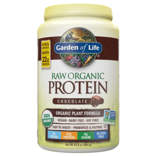 Garden of Life: Raw Organic Protein - Chocolate (664g)