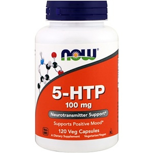 NOW: 5-HTP 100mg (120VCaps)
