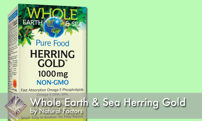 What's the deal with Whole Earth & Sea Herring Gold?