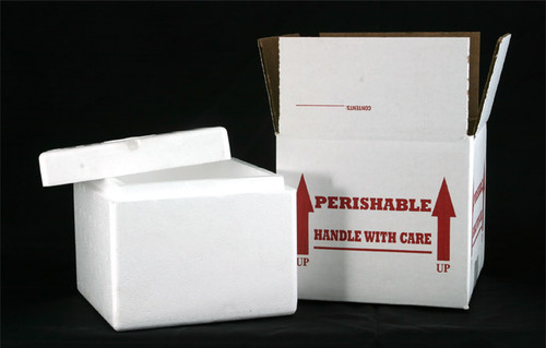 7x7x6 Molded EPS  with Boxes (12 Pack)