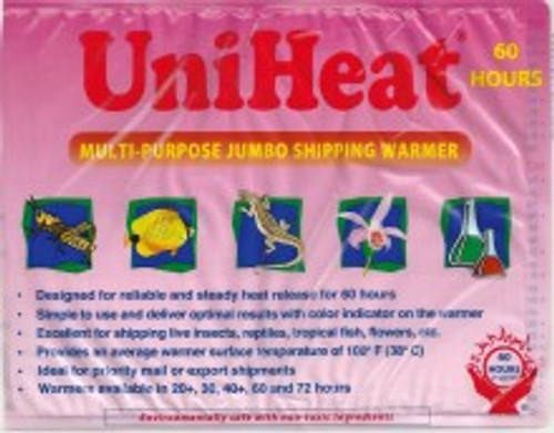 120 Pack (case) 60 Hour Shipping Warmers