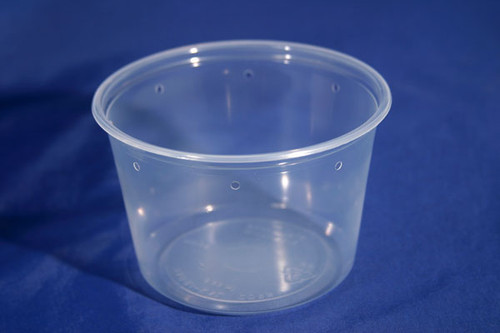 Pro-Kal 16 oz Clear Punched 500 Count