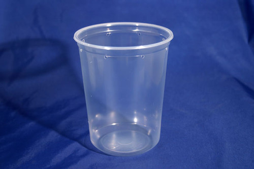 Pro-Kal 32 oz Clear Punched 100 Count