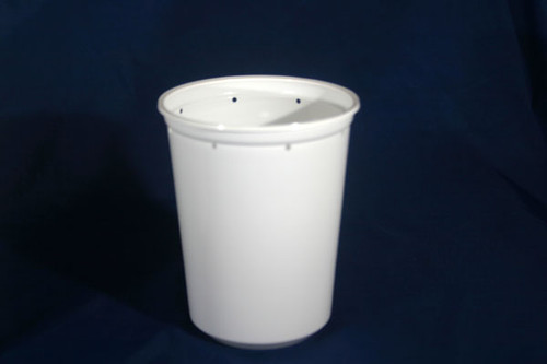 Pro Kal 32oz White PUNCHED 100 Count