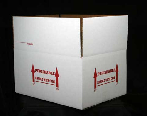 """15x11x7 Insulated Shipping Box with 1/2"""" Foam 50 Pack"""