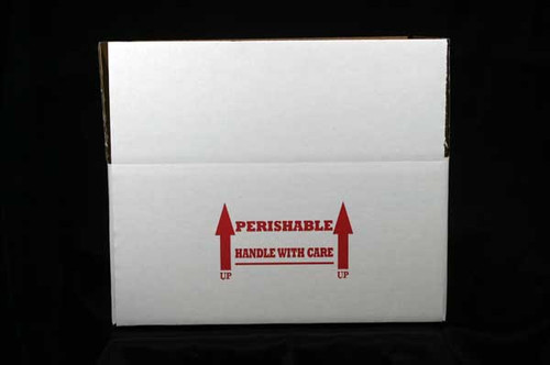 "15x11x7 Insulated Shipping Box with 1/2"" Foam 100 Pack"
