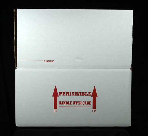 """16 X 16 X 8  Insulated Shipping Box with 1/2"""" Foam 8 Pack"""