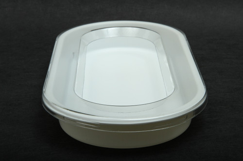 Oval Worm Dish 200 Count