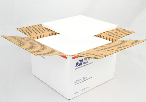 USPS Priority Mail Box-7 (12x12x8) Insulating Panels 10 Pack