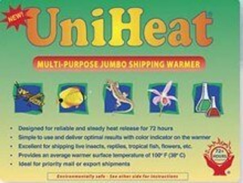 PREORDER PO3  UniHeat 72 Hour Shipping Warmers 90 Count (Case) Due Approx 11/29/21