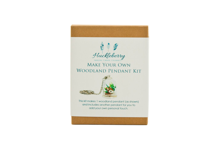 Make Your Own Woodland Pendant - Deer