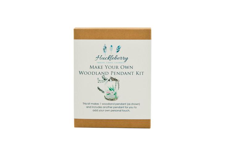 Make Your Own Woodland Pendant - Rabbit