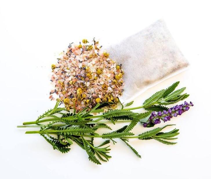 Make Your Own Bath Soak Tea Bags Kit - Lavender