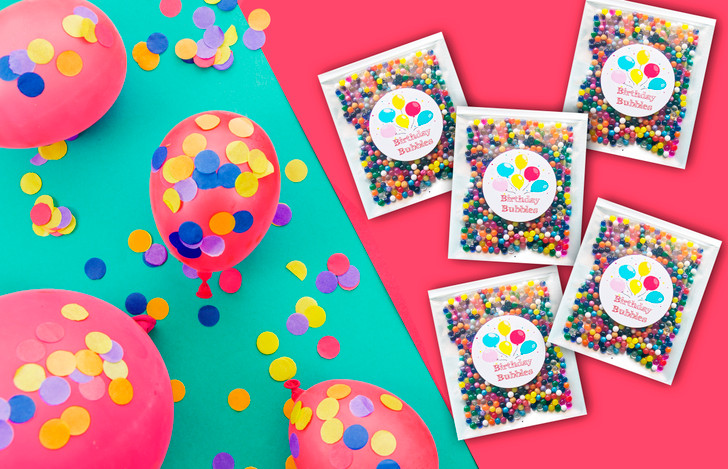 Birthday Bubbles Giftables - Launch special: Get 1 extra packet for free!