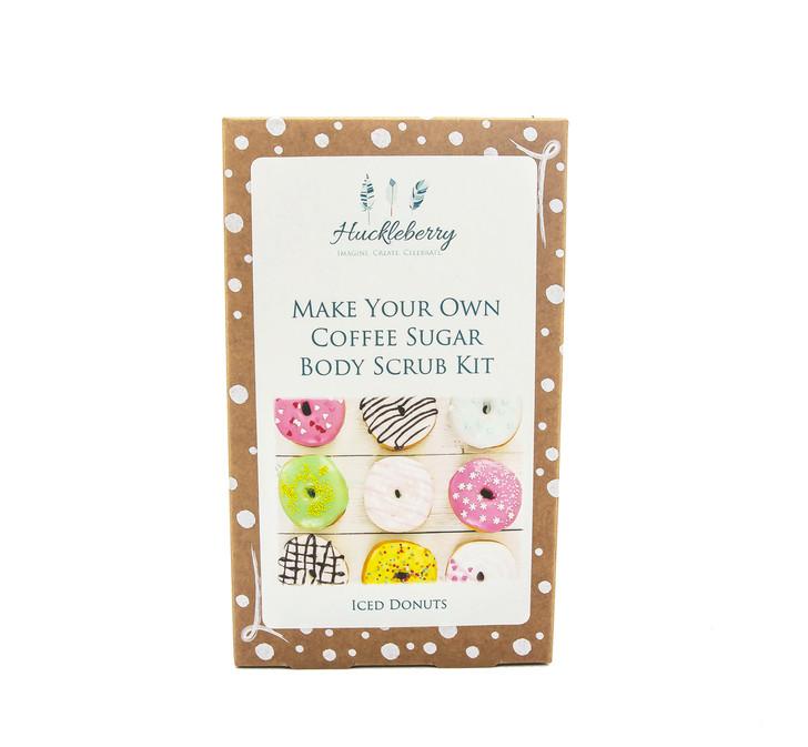 Make Your Own Coffee Sugar Body Scrub Kit - Iced Donuts