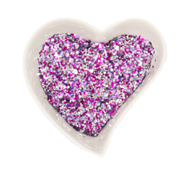 Glitter- Biodegradable - Tickled Pink