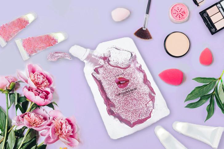 Make Your Own Lip Gloss - XOXO Pink Glitter