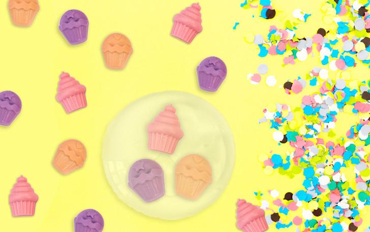 Make Your Own Melt & Pour Soap (Tweens) - Cupcakes