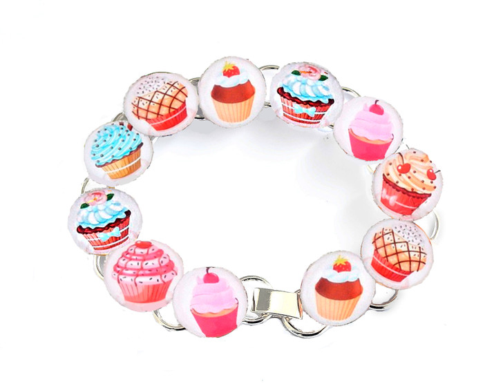 Make Your Own Bracelet Kit (Cupcakes)